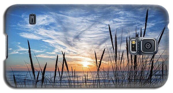 Galaxy S5 Case featuring the photograph Beach Grass by Delphimages Photo Creations