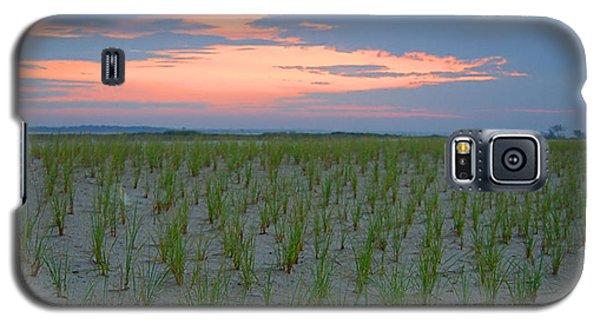 Galaxy S5 Case featuring the photograph Beach Grass Farm by  Newwwman