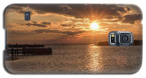 Beach Haven Nj Sunset January 2017 Galaxy S5 Case