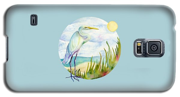 Beach Heron Galaxy S5 Case