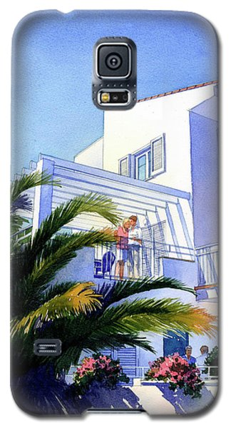 Beach House At Figueres Galaxy S5 Case