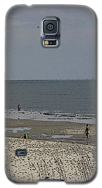 Galaxy S5 Case featuring the photograph Beach House Backyard by Skyler Tipton
