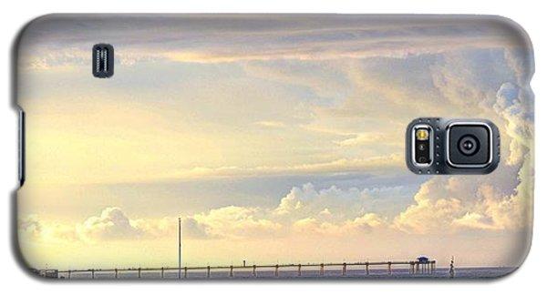 Beach House Window Galaxy S5 Case