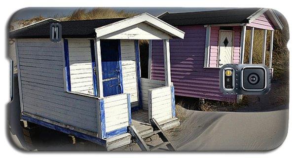 Beach Houses At Skanor Galaxy S5 Case