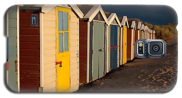 Beach Huts II Galaxy S5 Case