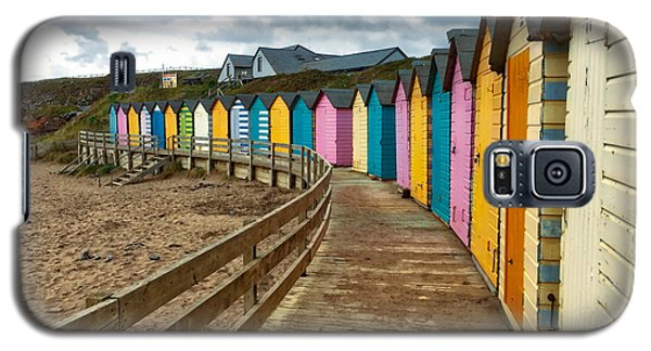 Beach Huts Galaxy S5 Case