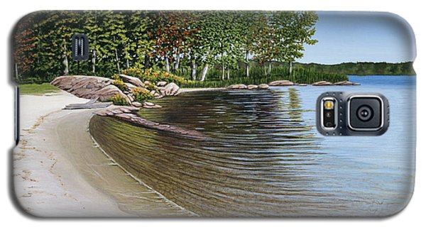 Beach In Muskoka Galaxy S5 Case