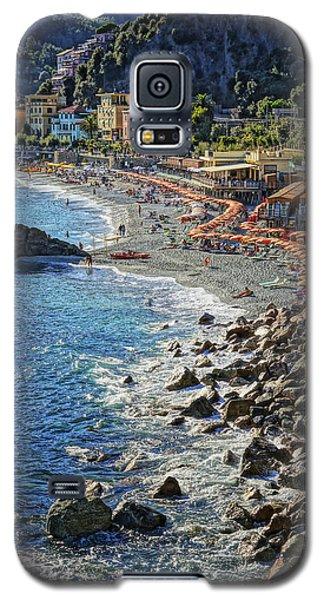 Beach Monterosso Italy Dsc02467 Galaxy S5 Case