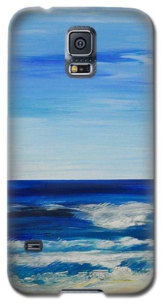 Beach Ocean Sky Galaxy S5 Case