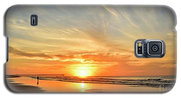 Beach Of Gold Galaxy S5 Case