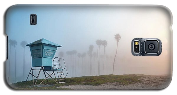 Galaxy S5 Case featuring the photograph Beach Office by Sean Foster