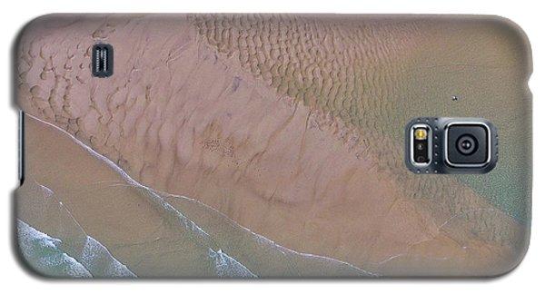 Beach Patterns At North Point On Moreton Island Galaxy S5 Case