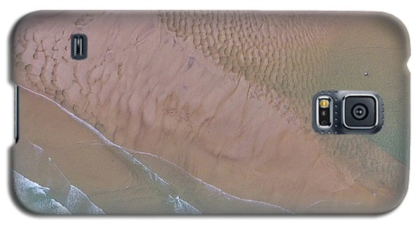 Beach Patterns At North Point On Moreton Island Galaxy S5 Case