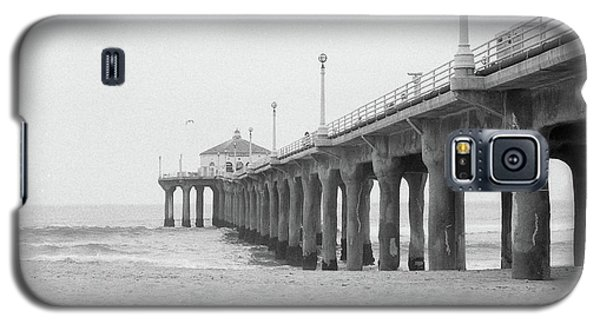 Beach Pier Film Frame Galaxy S5 Case