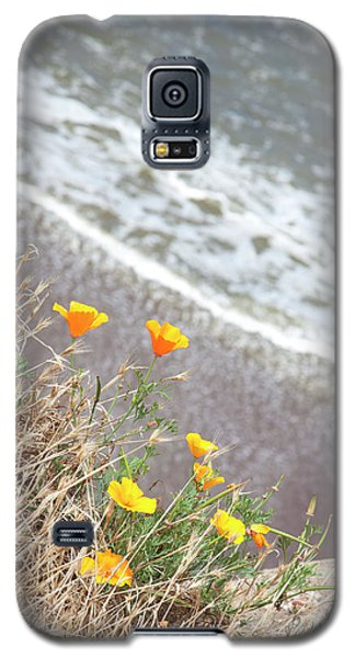 Beach Poppies Galaxy S5 Case