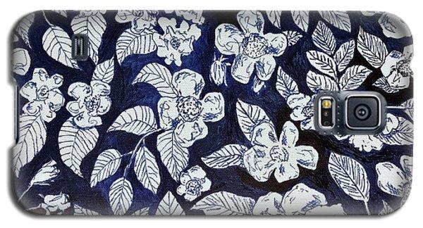 Beach Rose Pattern Galaxy S5 Case
