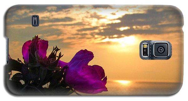 Beach Roses Galaxy S5 Case
