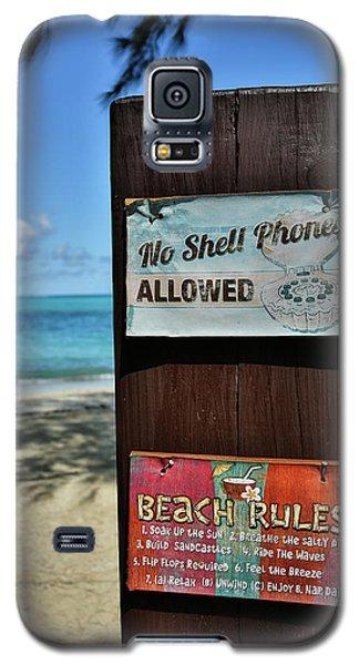 Beach Rules Galaxy S5 Case
