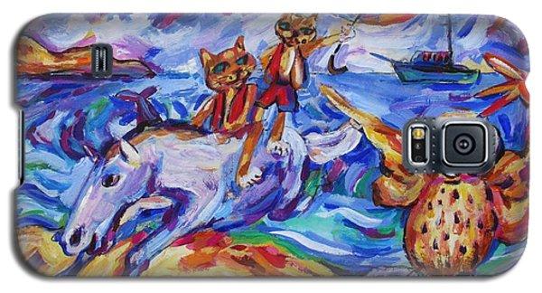 Beach Run Galaxy S5 Case by Dianne  Connolly