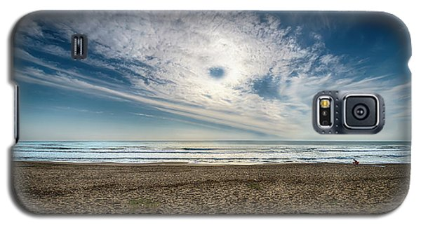 Beach Sand With Clouds - Spiagggia Di Sabbia Con Nuvole Galaxy S5 Case