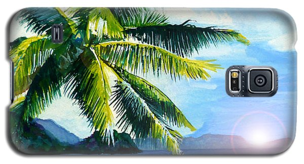 Beach Scene Galaxy S5 Case by Curtiss Shaffer