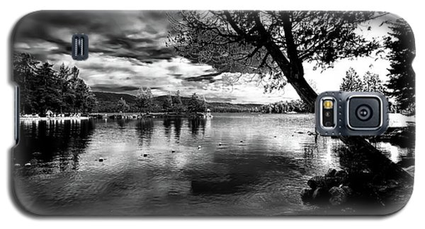 Galaxy S5 Case featuring the photograph Beach Silhouette by David Patterson
