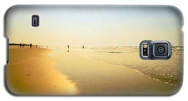 Beach Silhouettes 2 Galaxy S5 Case by John Harding
