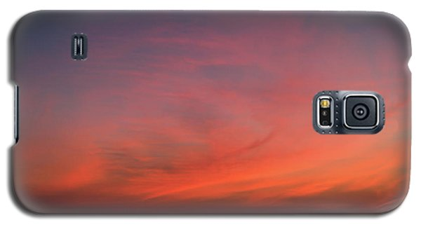 Beach Sky Blaze Galaxy S5 Case