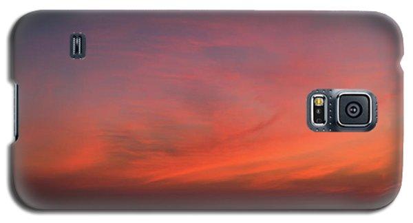 Beach Sky Blaze Galaxy S5 Case