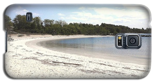Beach Solomons Island Galaxy S5 Case