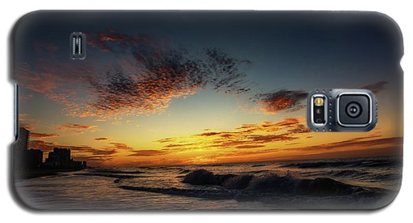 Beach Sunrise Galaxy S5 Case