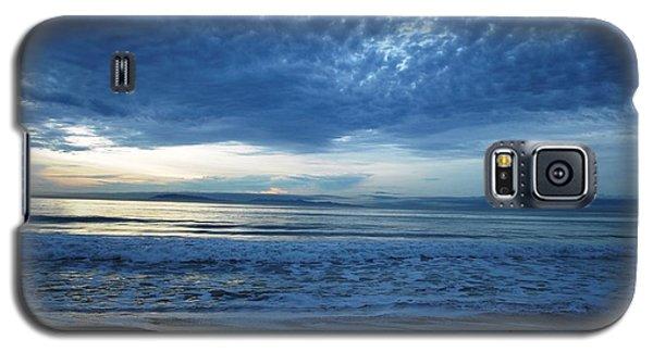 Beach Sunset - Blue Clouds Galaxy S5 Case