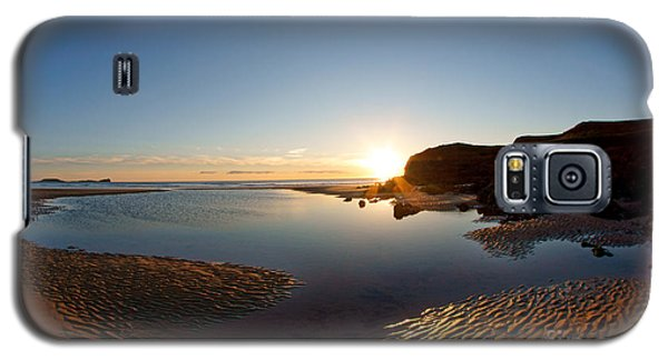 Beach Textures Galaxy S5 Case
