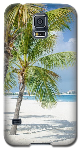 Beach Time In Turks And Caicos Galaxy S5 Case
