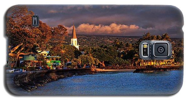 Beach Town Of Kailua-kona On The Big Island Of Hawaii Galaxy S5 Case