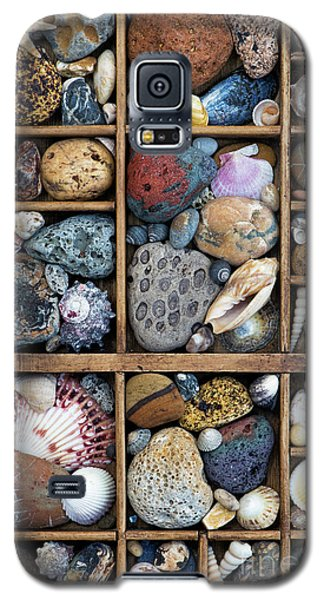 Galaxy S5 Case featuring the photograph Beach Treasures by Tim Gainey
