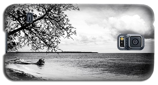 Beach View At Zapatillas Galaxy S5 Case