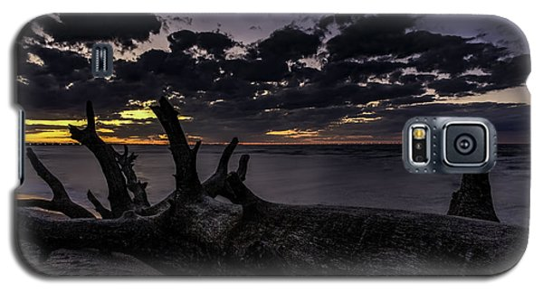 Beach Wood Galaxy S5 Case