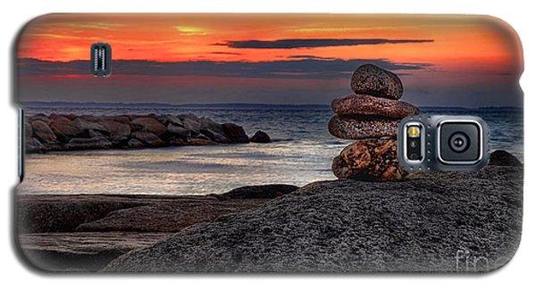 Galaxy S5 Case featuring the photograph Beach Zen by Mark Miller