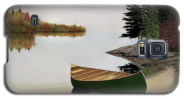 Beached Canoe In Muskoka Galaxy S5 Case