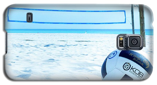 Volleyball On The Beach Galaxy S5 Case