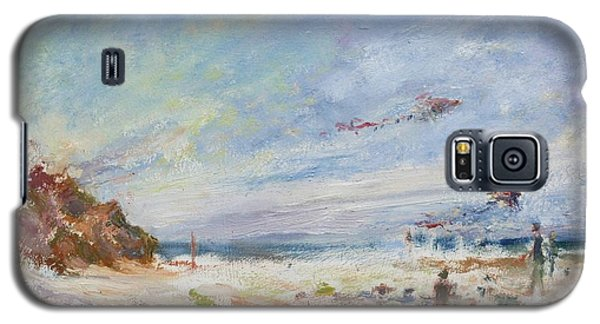 Beachy Day - Impressionist Painting - Original Contemporary Galaxy S5 Case