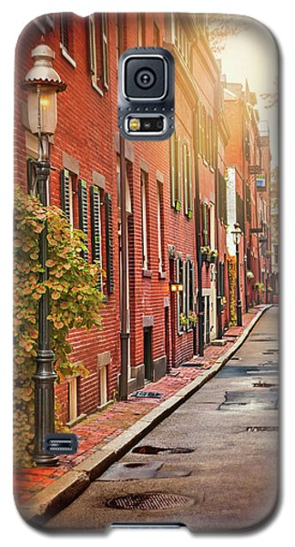 Galaxy S5 Case featuring the photograph Beacon Hill Area Of Boston  by Carol Japp