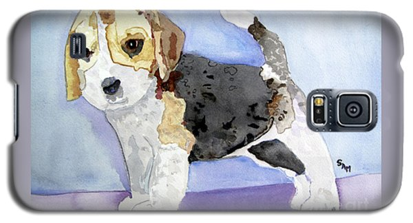 Beagle Pup Galaxy S5 Case by Sandy McIntire