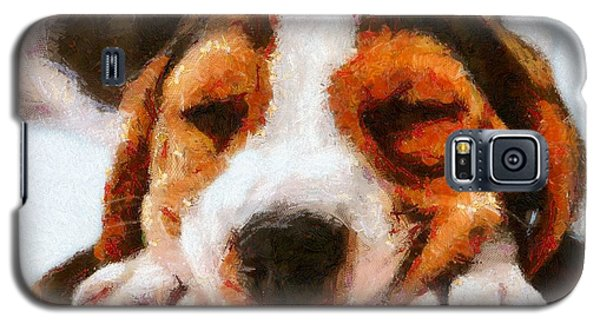 Beagle Puppy Galaxy S5 Case