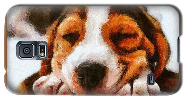 Beagle Puppy Galaxy S5 Case