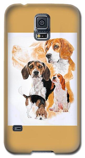 Beagle Hound Medley Galaxy S5 Case