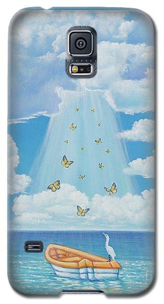 Beam Me Up Galaxy S5 Case