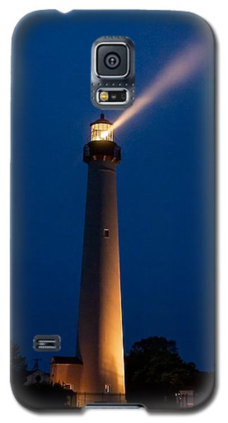 Galaxy S5 Case featuring the photograph Beam Of Light At Cape May by Nick Zelinsky
