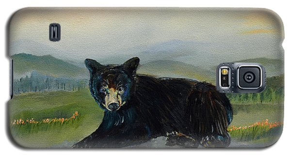 Bear Alone On Blue Ridge Mountain Galaxy S5 Case by Jan Dappen